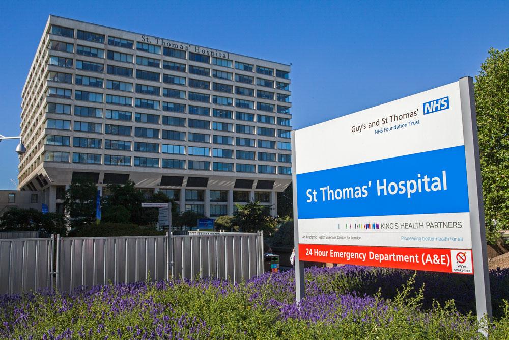 St Thomas Hospital London